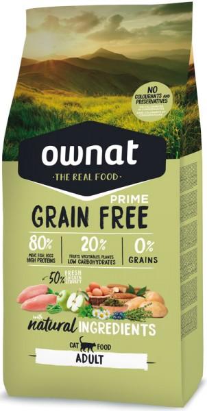 Ownat Grain Free Prime Adult (Cat)
