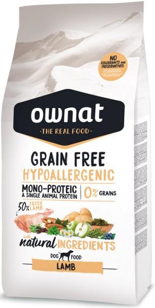 Ownat Grain Free Hypoallergen Lamm (Dog)