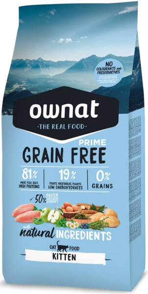 Ownat Grain Free Prime Kitten (Cat)