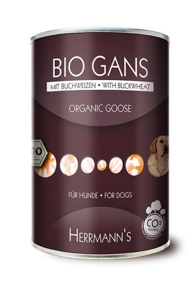 Herrmann's Bio Gans Menü mit Buchweizen