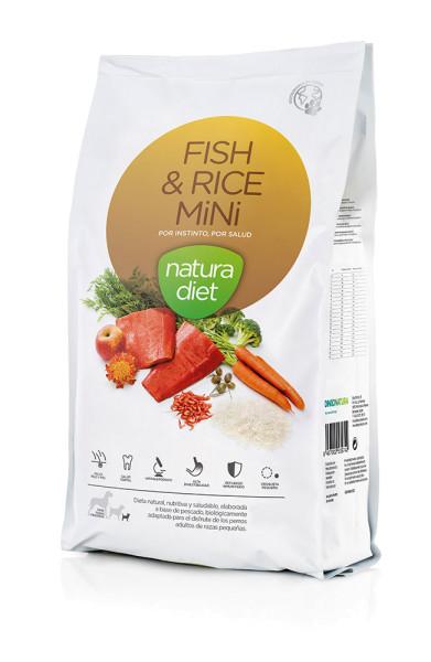 Natura Diet - Fisch & Reis Mini