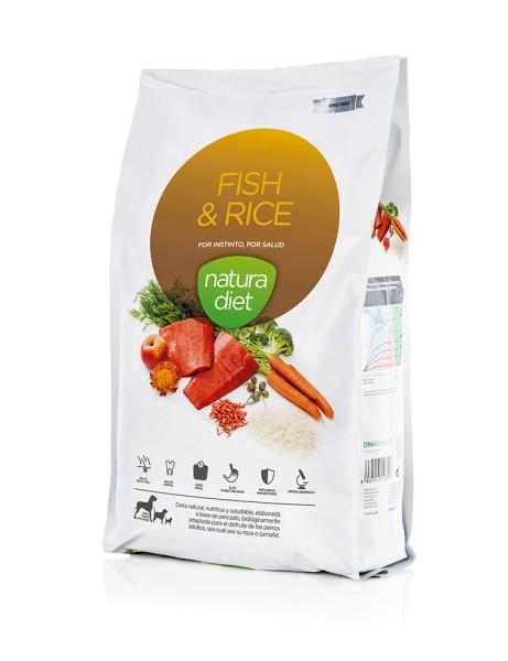 Natura Diet - Fisch und Reis