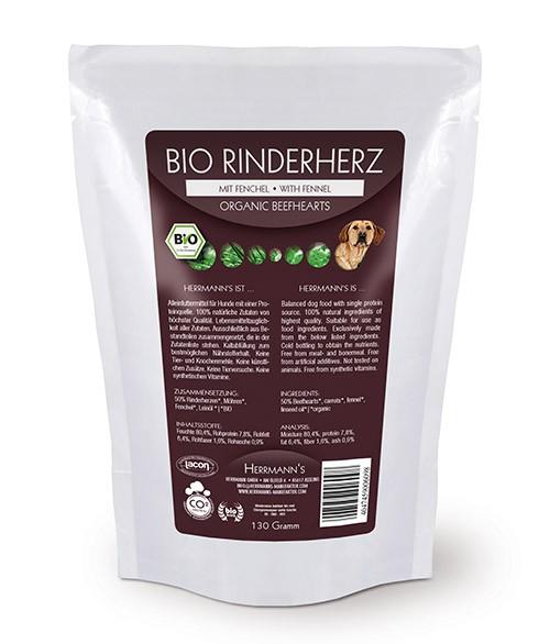 Herrmann's Bio Rinderherz Menü mit Fenchel