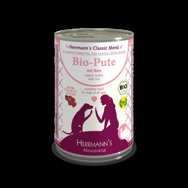 Herrmann's Bio Pute Menü mit Reis